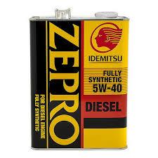 Масло моторное Idemitsu Zepro Diesel 5w-40, 4л