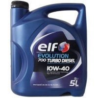 Масло моторное ELF EVOLUTION 700 Turbo Diesel 10w40, 5л