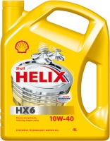 Масло моторное Shell Helix HX6 10w-40, 4л